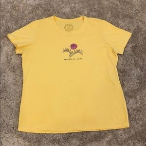 "Life is Good ""Optimistic by Nature"" T-Shirt"